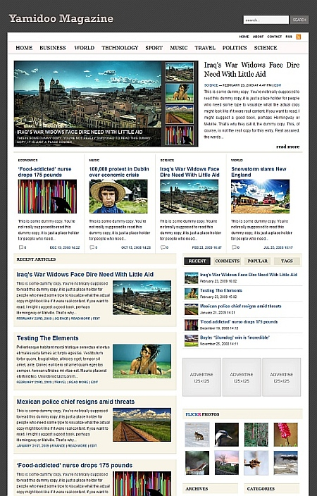 12 Themes Wordpress estilo noticias o revista