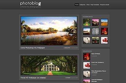 PhotoBlog Theme